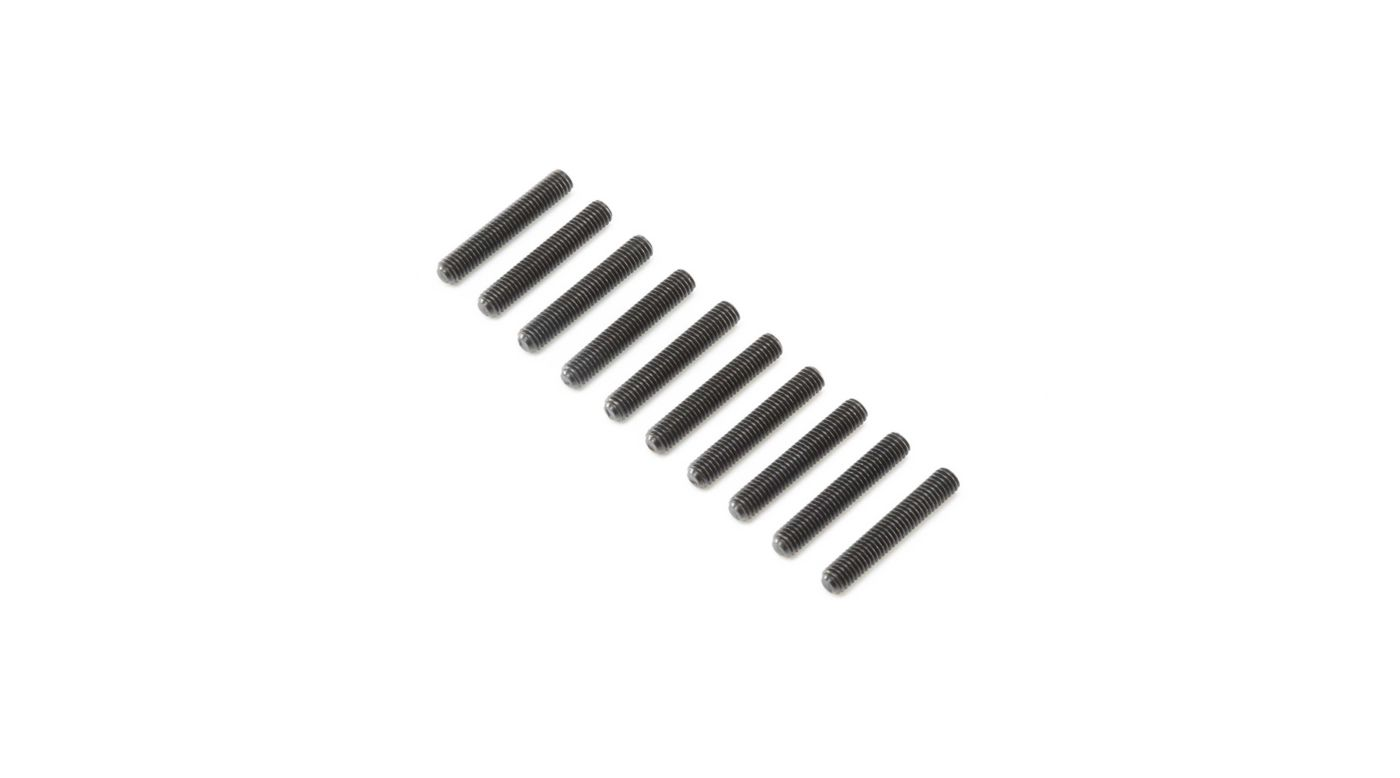 Image for Set Screws, Steel, Black Oxide, Flat Point, M5 x 30mm (10) from HorizonHobby