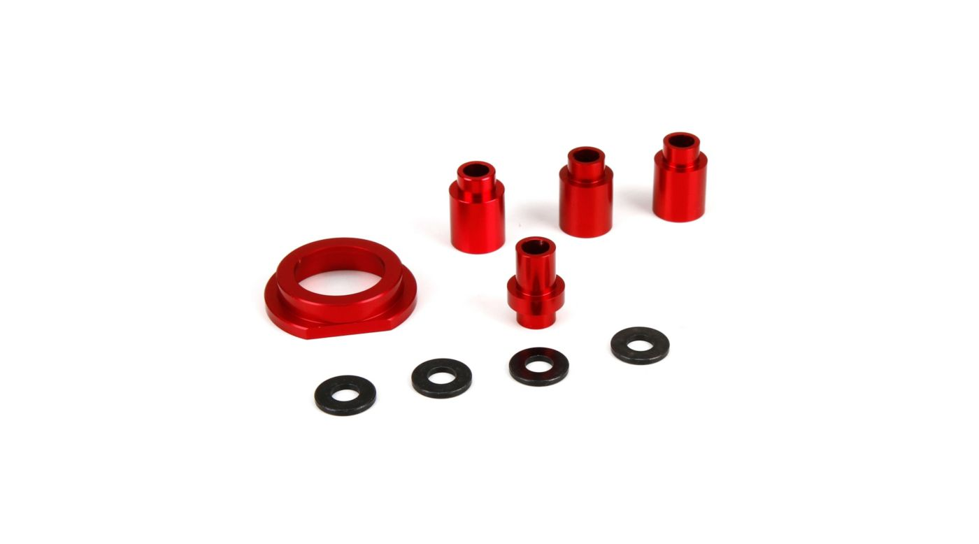 Image for Engine Mount Spacer & Clutch Mount, Aluminum: 1/5 4WD from HorizonHobby
