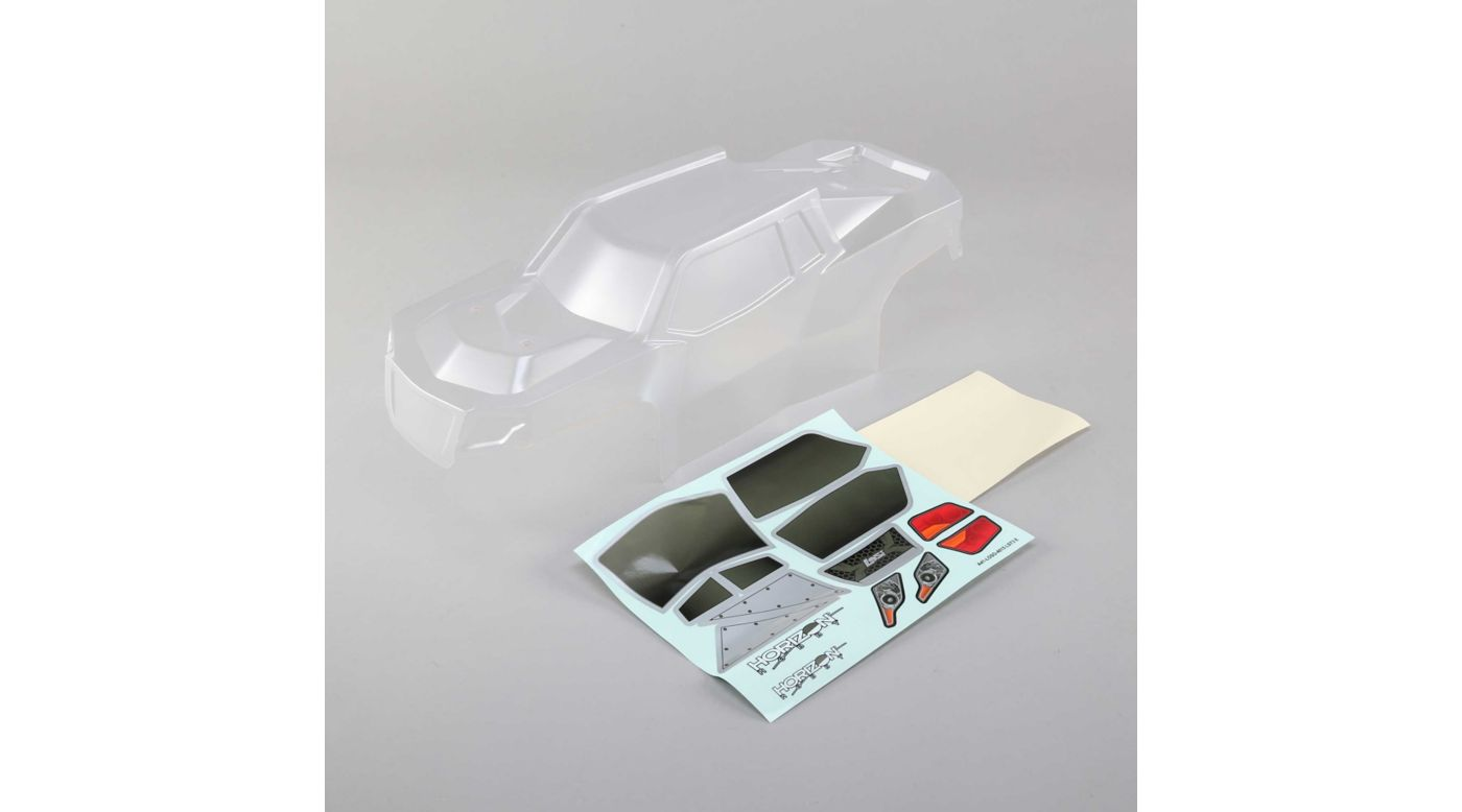 Image for Body Set with Window Mask, Clear: LST 3XL-E from HorizonHobby