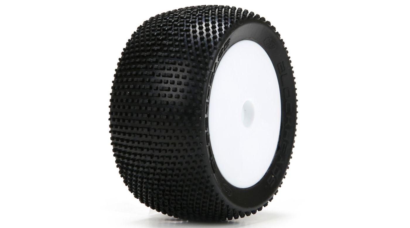 Image for Blockhead Tires, Mounted (2): Mini 8T from HorizonHobby