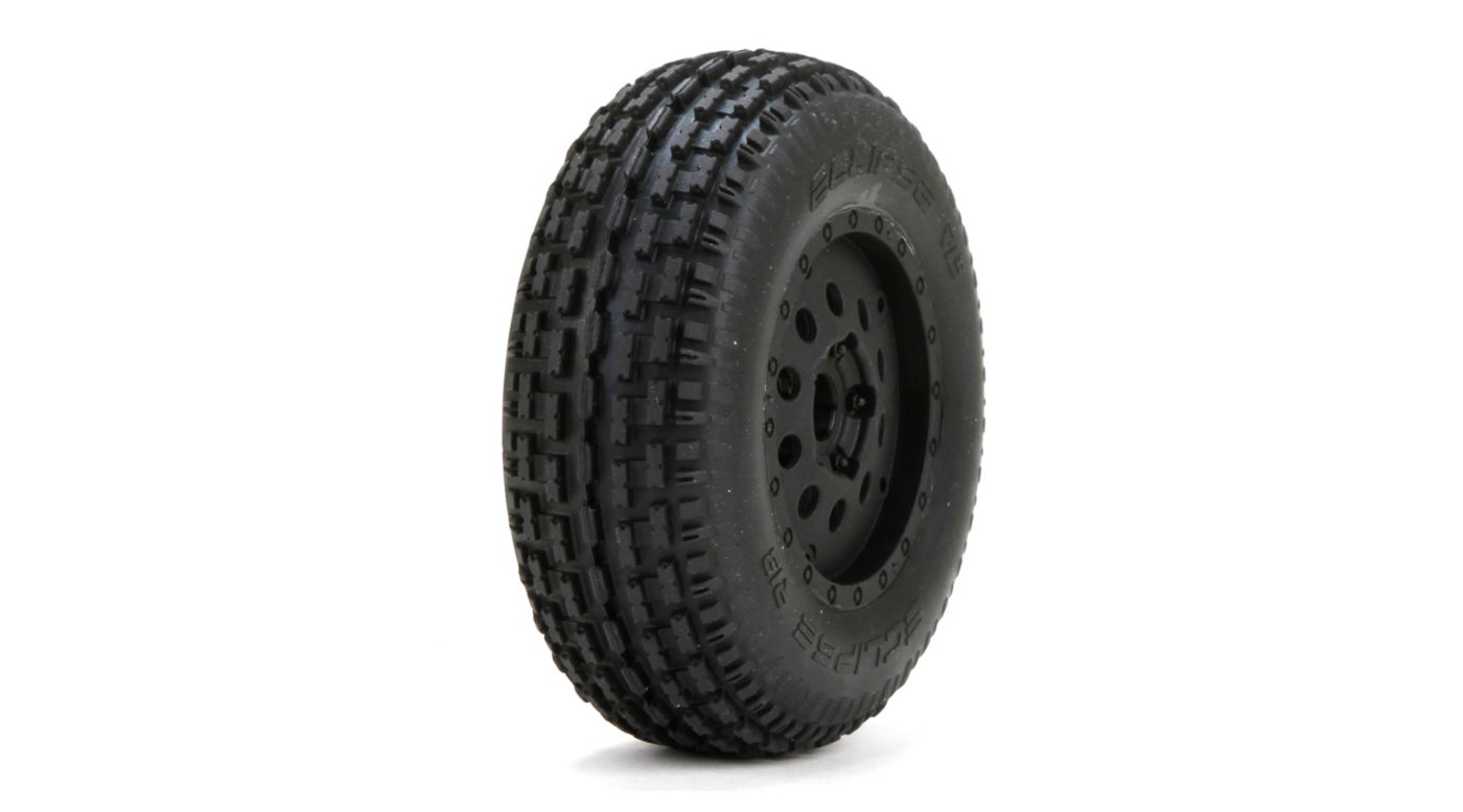 Image for Premounted Eclipse Rib Tires/Wheels (2): XXX-SCB from HorizonHobby