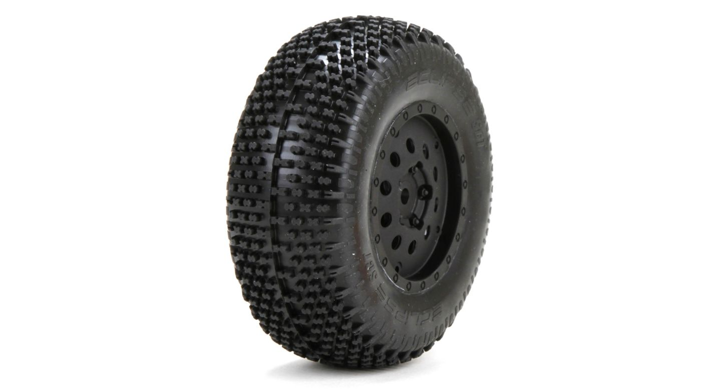 Image for Premounted Eclipse Tires/Wheels (2): XXX-SCT/SCB from HorizonHobby