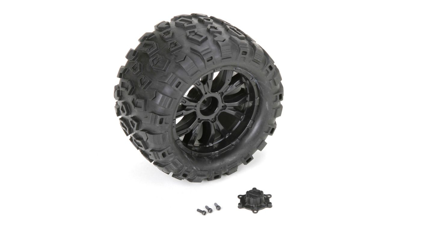 Image for Wheel and Tire Mounted (2): TEN MT from HorizonHobby