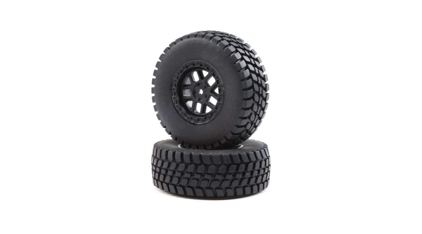 Image for Alpine Wheel and Tire, Mounted (2): Baja Rey from HorizonHobby