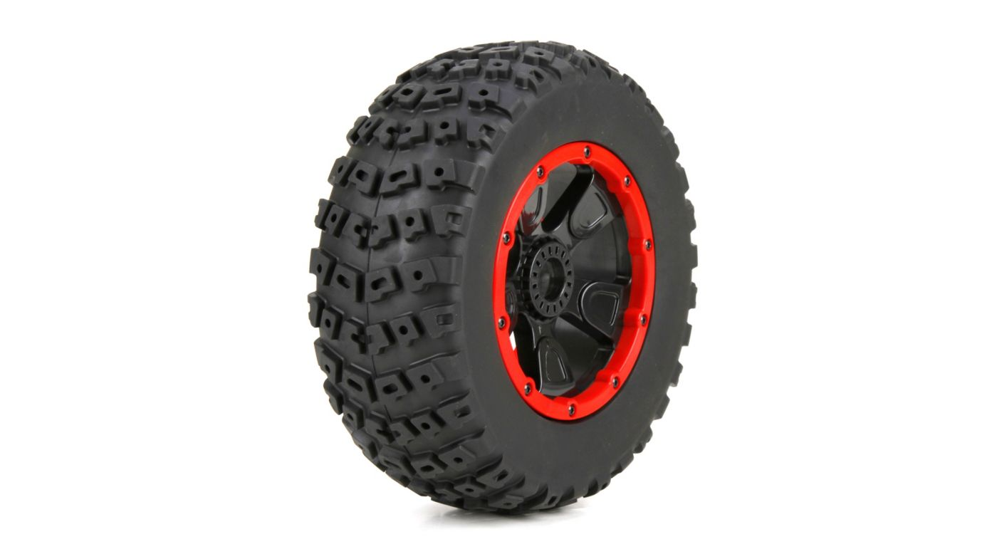 Image for 1/5 Left & Right Front/Rear 4.75 Pre-Mounted Tires, 24mm Hex (2): DB XL from HorizonHobby