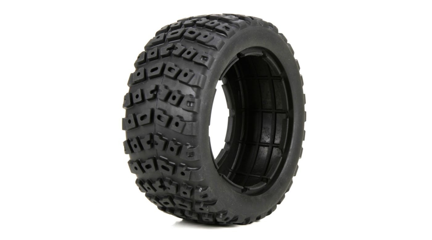 Image for Left & Right Tire Set & Foam Insert (2): 1/5 DB XL from HorizonHobby