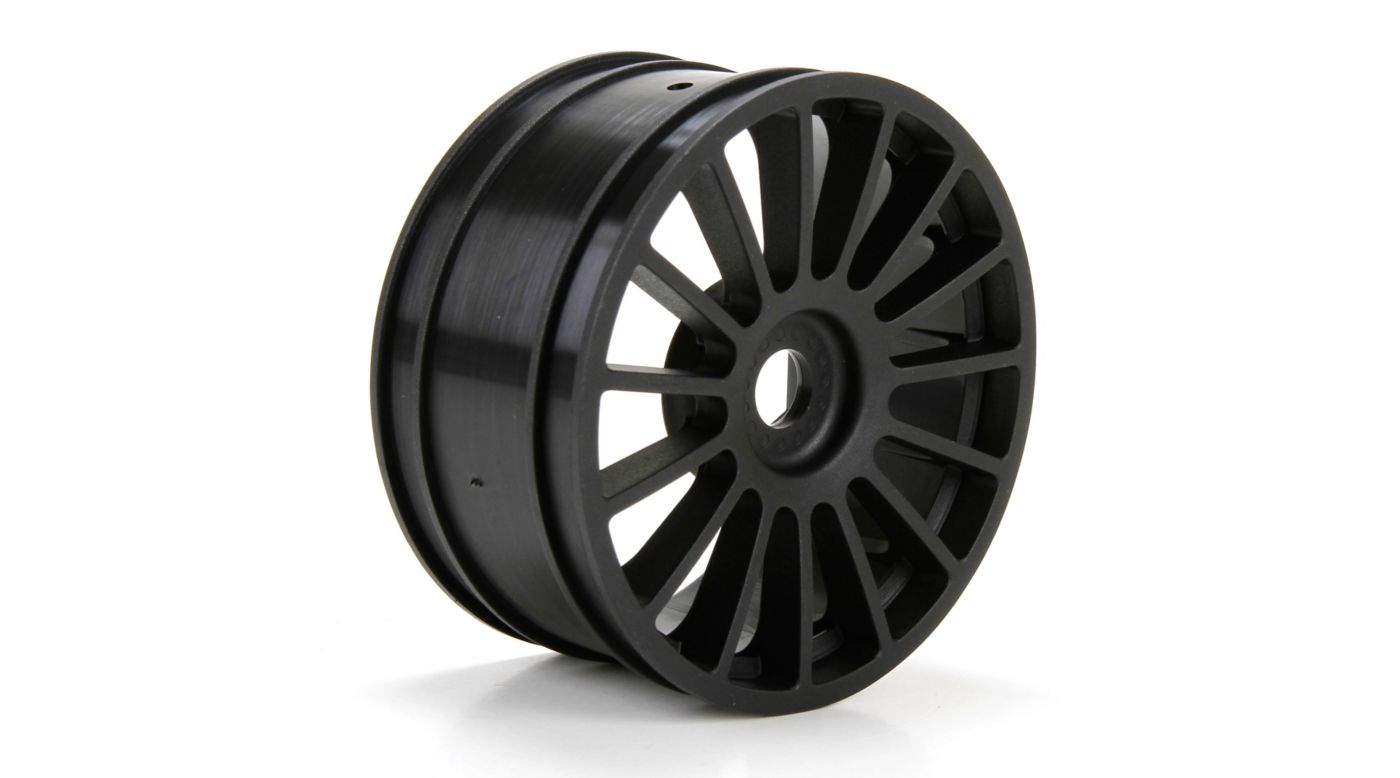 Image for Wheel, Black (2): 6IX from HorizonHobby