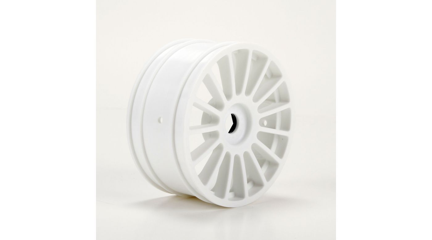 Image for Wheel, White (2): 6IX from HorizonHobby