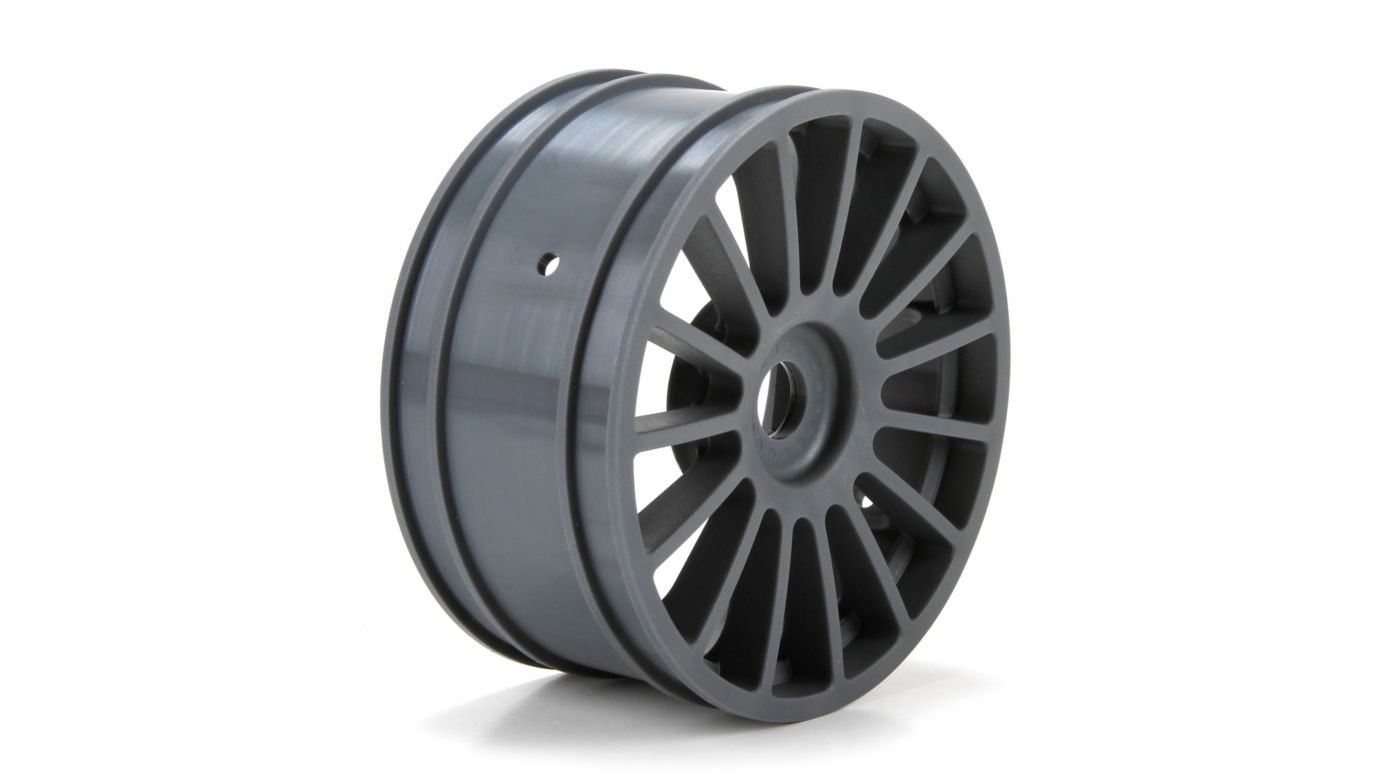 Image for Wheel, Silver (2): 6IX from HorizonHobby