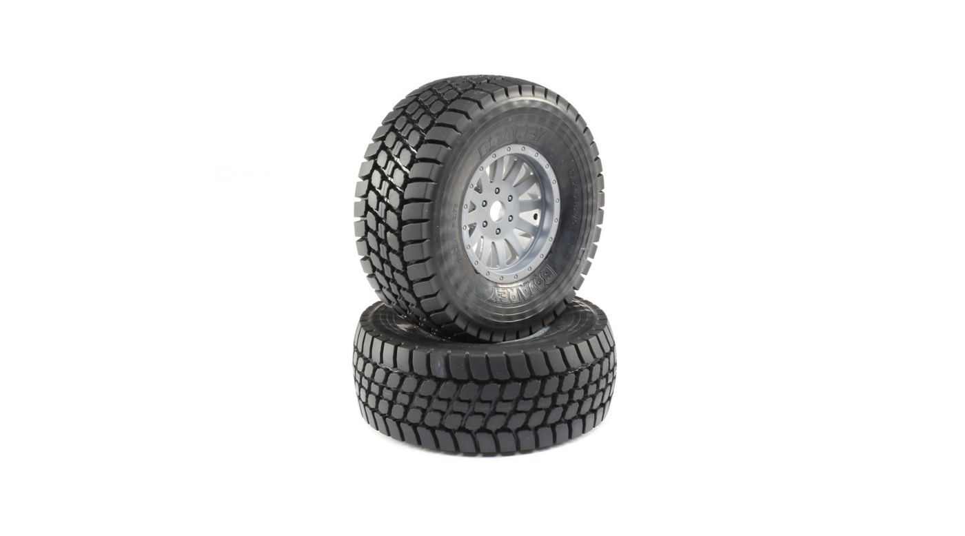 Image for Desert Claw Tires and Wheels Mounted (2):  Super Baja Rey from HorizonHobby