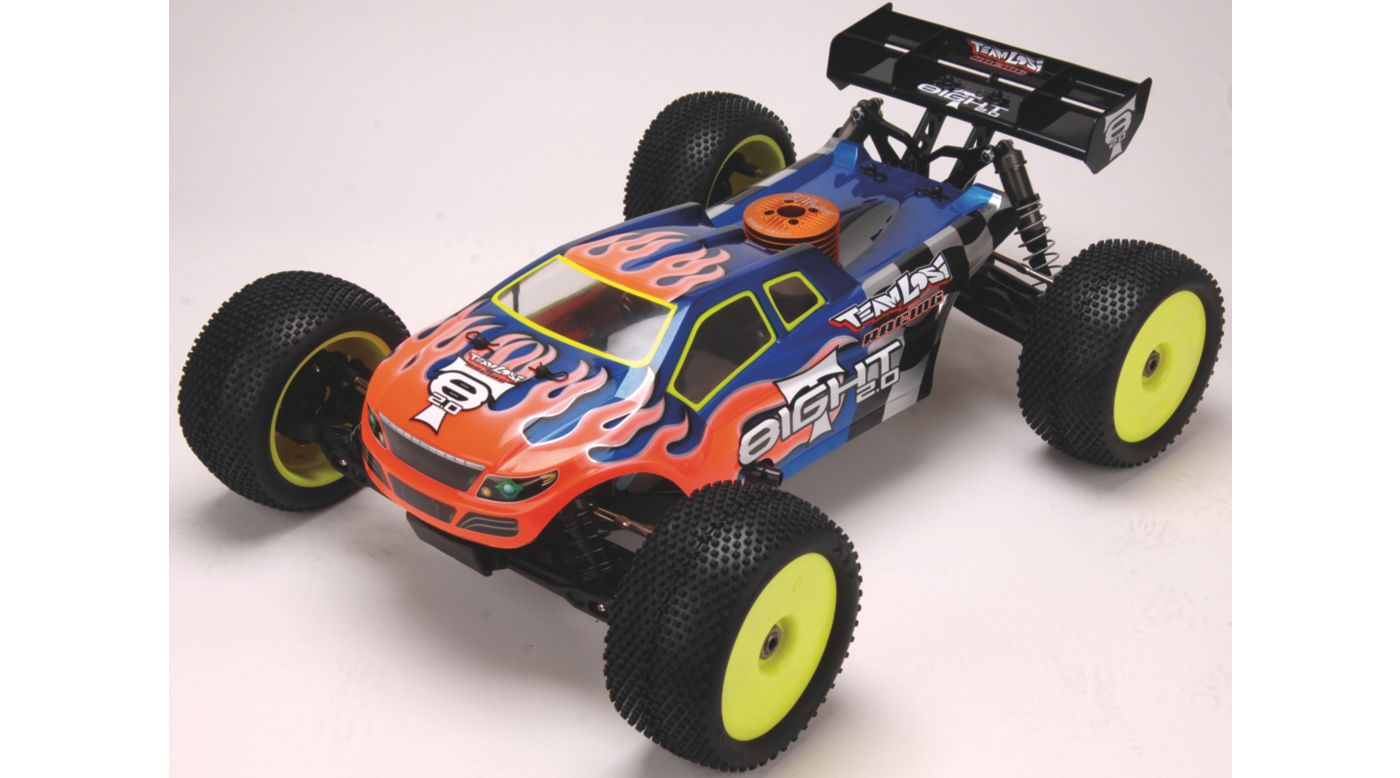 Image for 1/8 8IGHT-T 2.0 4WD Truggy Race Roller from HorizonHobby