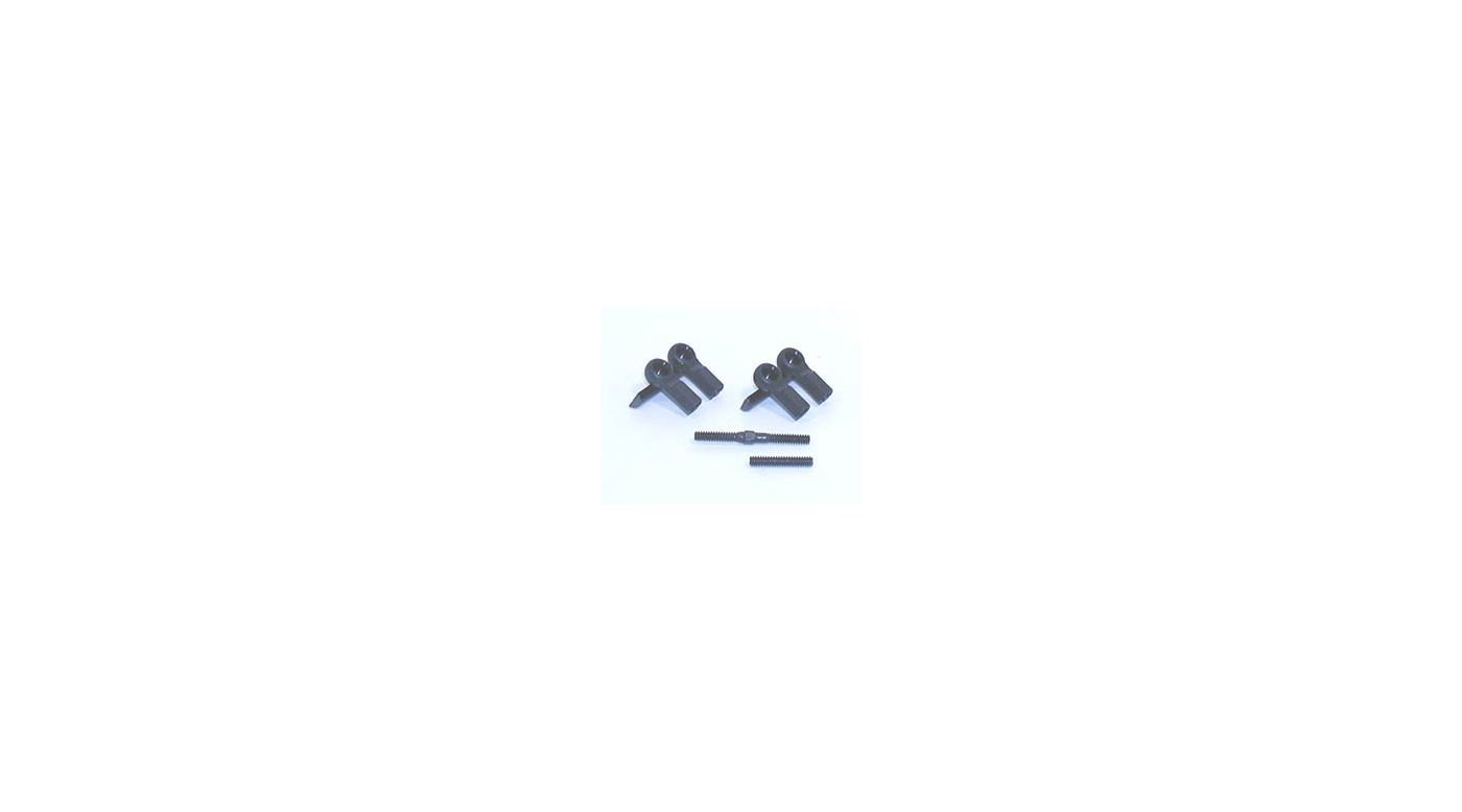 Image for Short Ball Cups & Threaded Rod (4) from HorizonHobby