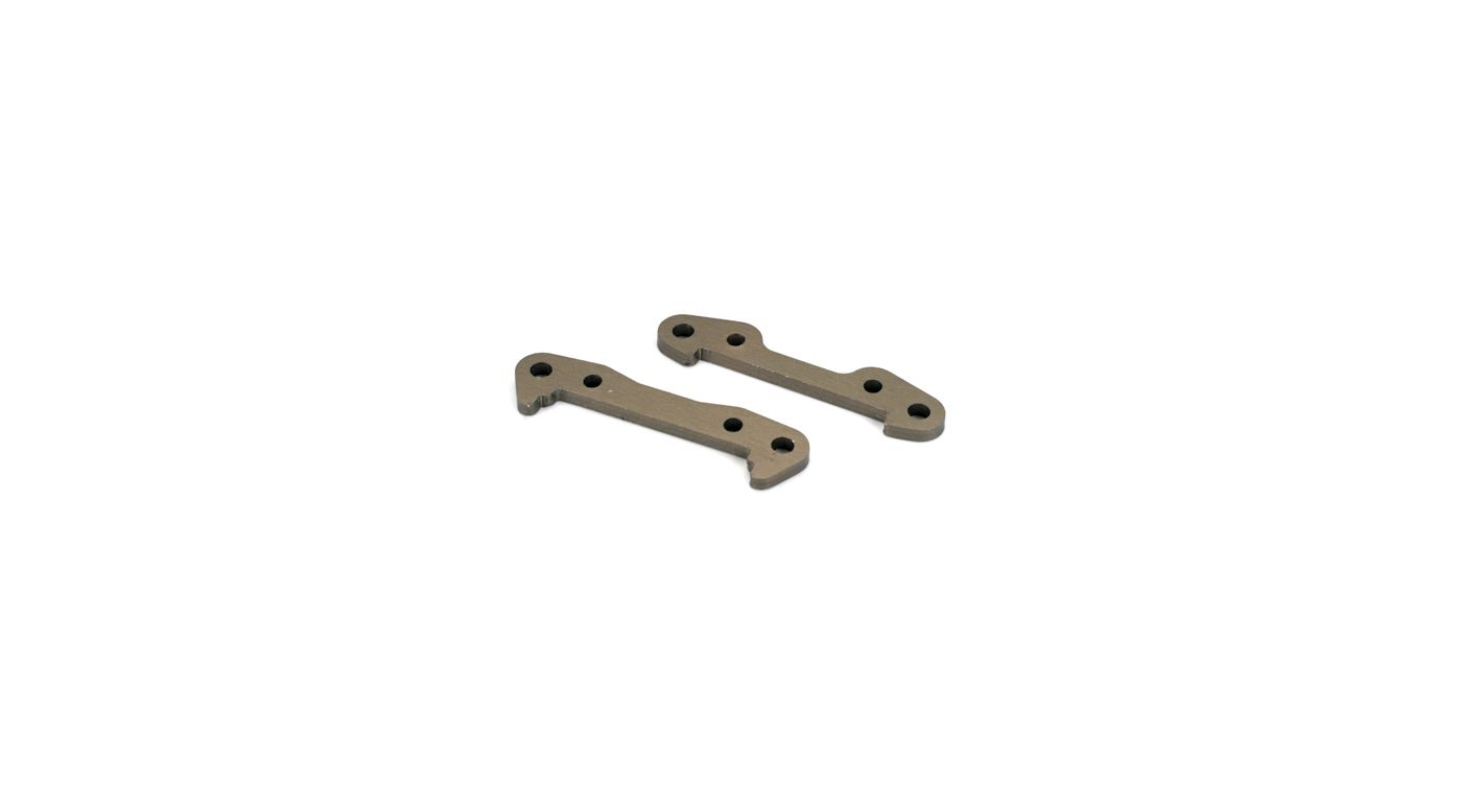 Image for Front Hinge Pin Brace Set-Aluminum: 8B,8T from HorizonHobby