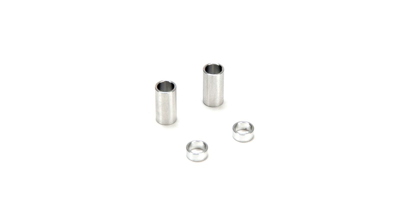 Image for Rear Axle Spacer Set, Aluminum: CCR, NCR SE from HorizonHobby