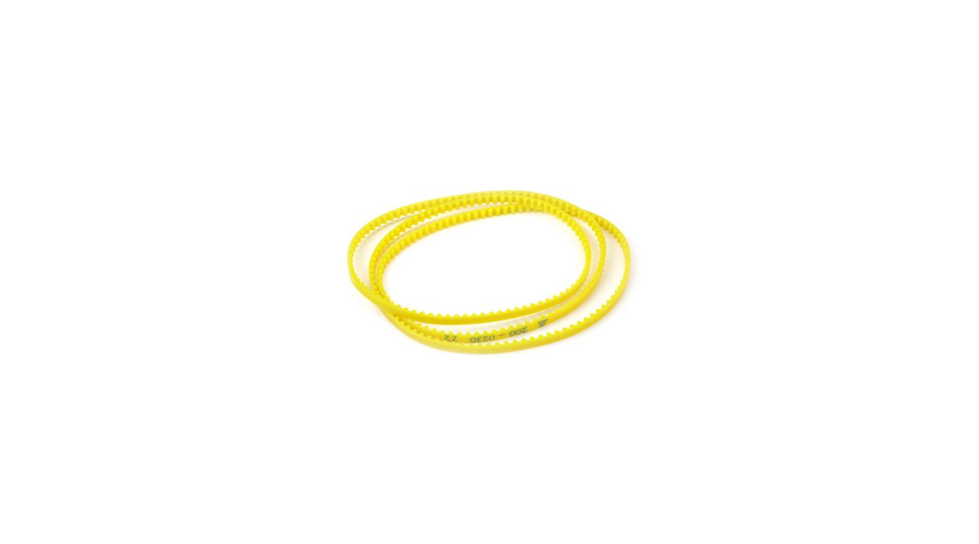 Image for Drive Belt-Ex Flex, Yellow: XXX-S/G+ from HorizonHobby