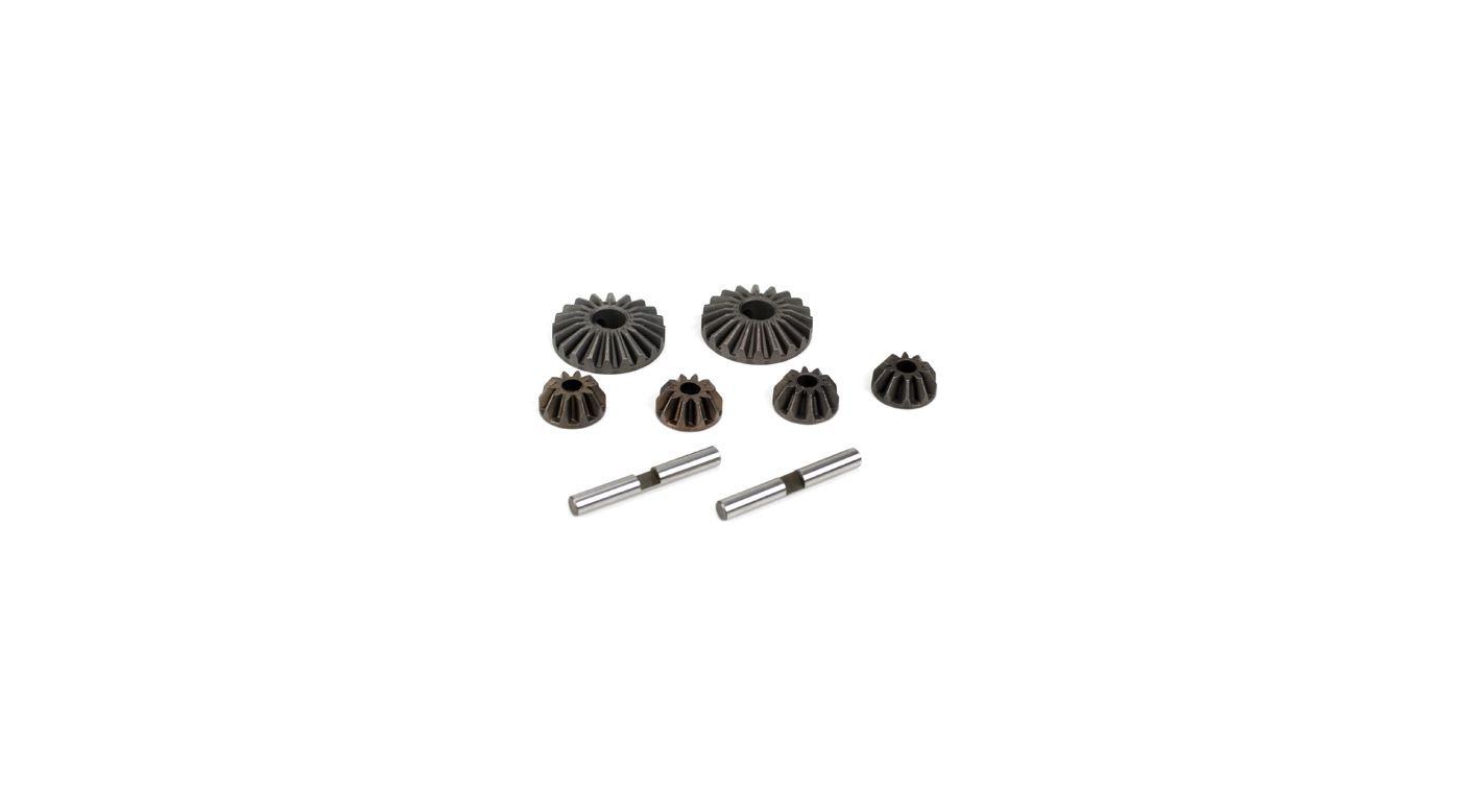 Image for Differential Gear & Shaft Set: 8B, 8T, 8X, 8XE from HorizonHobby