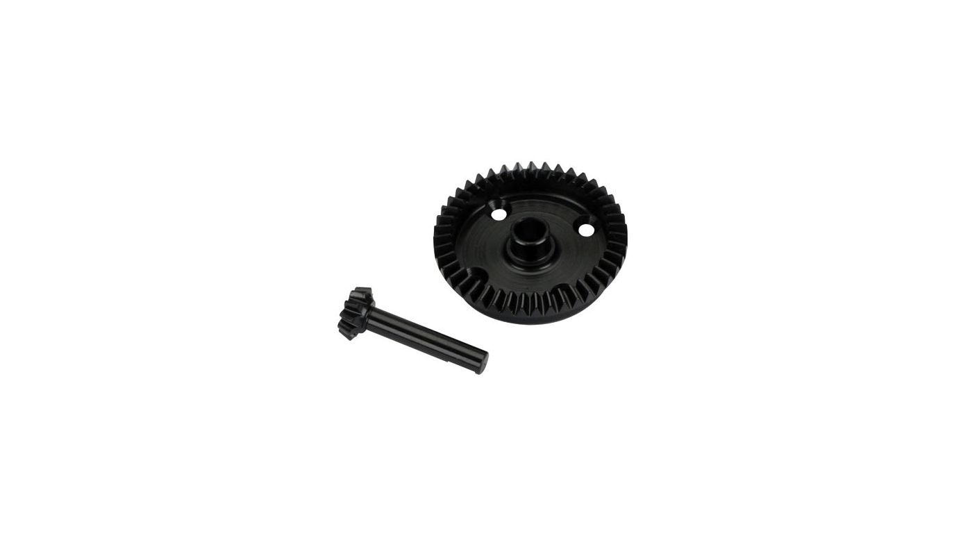Image for Rear Ring Gear, 43T/10T Pinion Set: 8T from HorizonHobby