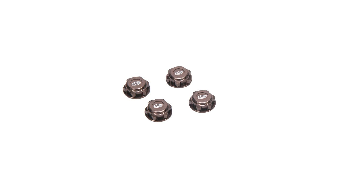 Image for Covered 17mm Wheel Nuts, Alum: 8B/8T 2.0 from HorizonHobby
