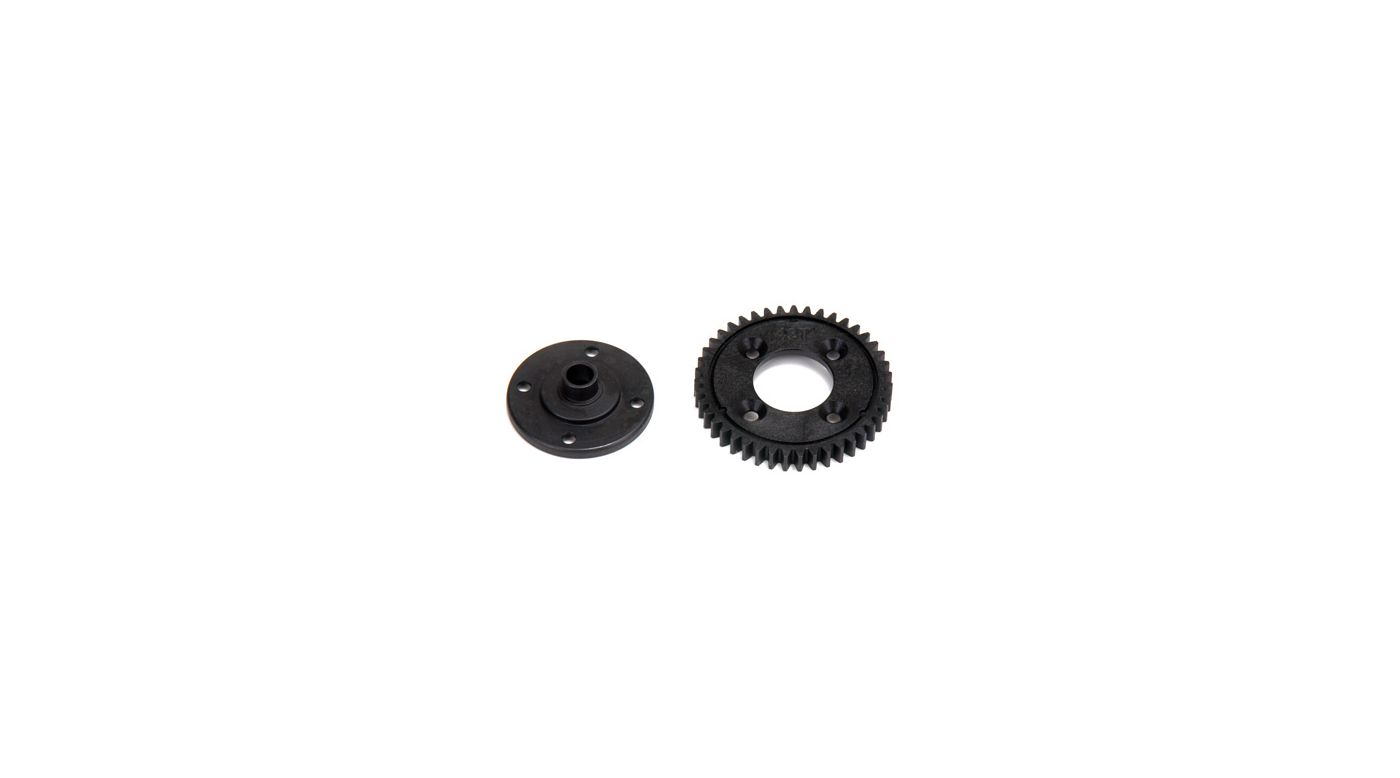 Image for 43T Spur Gear, Plastic: 8E 2.0 from HorizonHobby