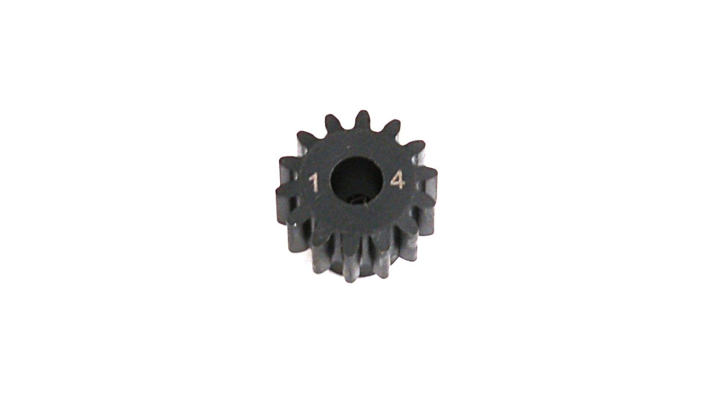 Image for 1.0 Module Pitch Pinion, 14T: 8E,SCTE from HorizonHobby
