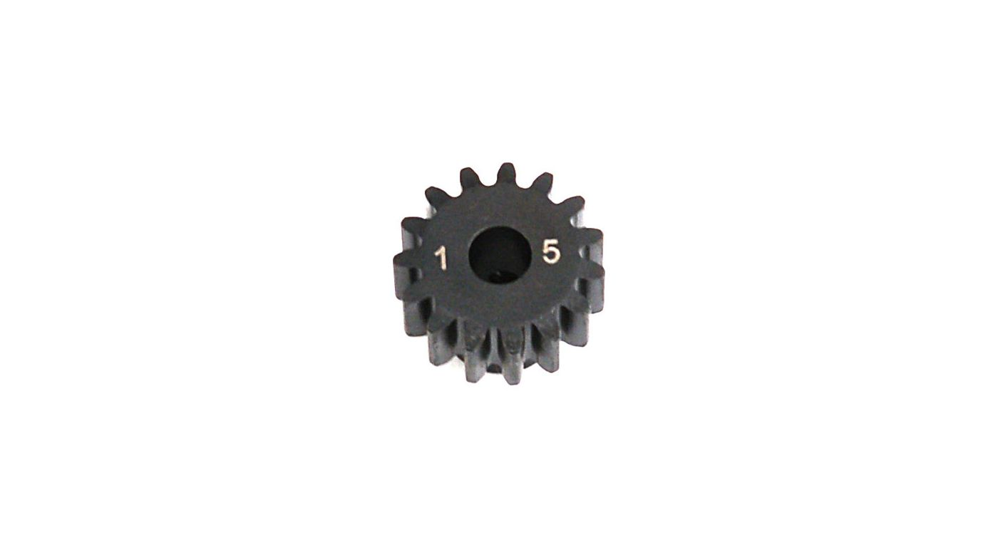 Image for 1.0 Module Pitch Pinion, 15T: 8E,SCTE from HorizonHobby