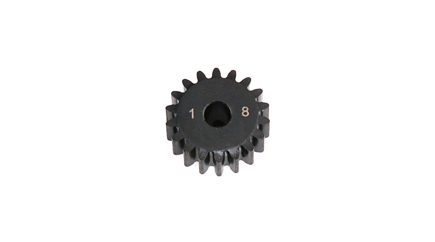Image for 1.0 Module Pitch Pinion, 18T: 8E, SCTE from HorizonHobby