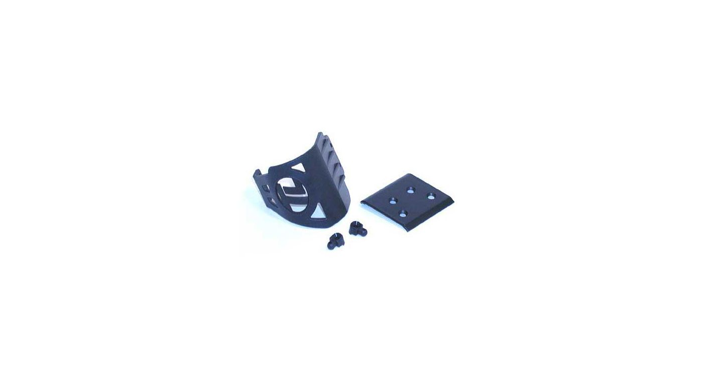 Image for Front Bumper, Body Mounts: XXX, T, NT, SNT from HorizonHobby