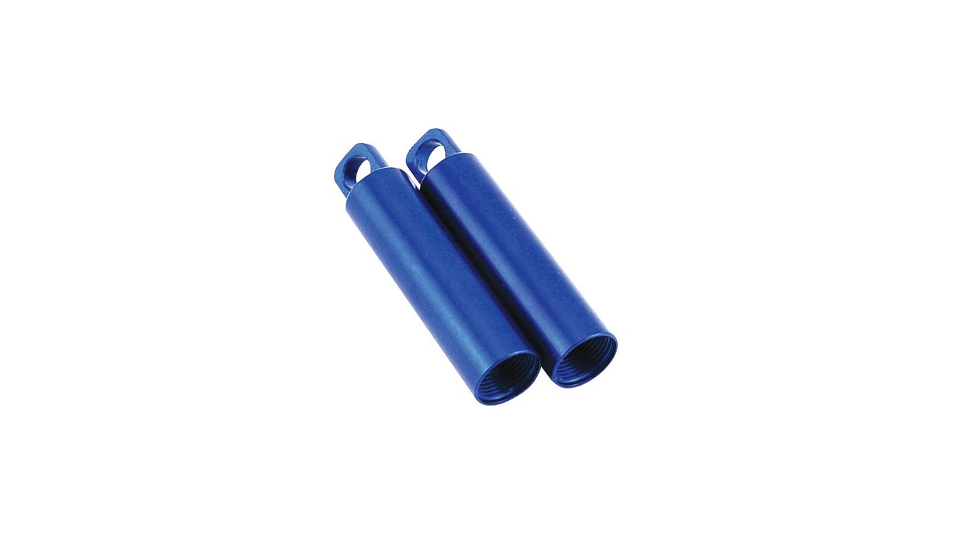 Image for Aluminum Shock Body, Blue (2) from HorizonHobby