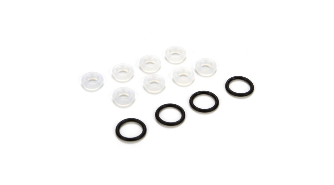 Image for Shock O-ring Set: 8B, 8T from HorizonHobby