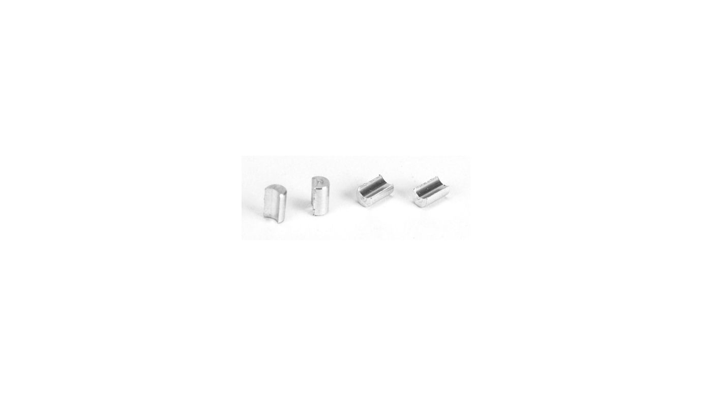 Image for Inserts, Camber Standoffs: 8B, 2.0 from HorizonHobby