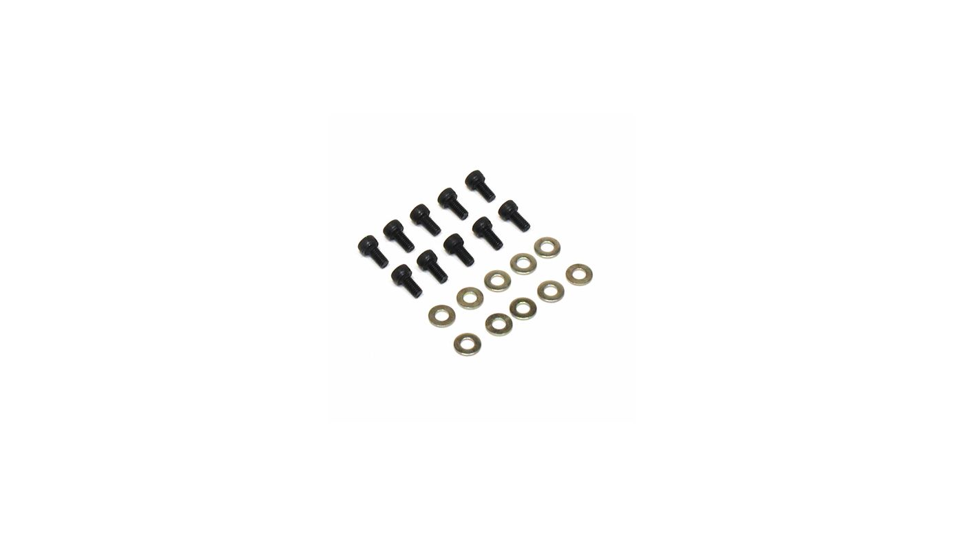 Image for Socket Head Screw, 3mm x 6mm (10) from HorizonHobby