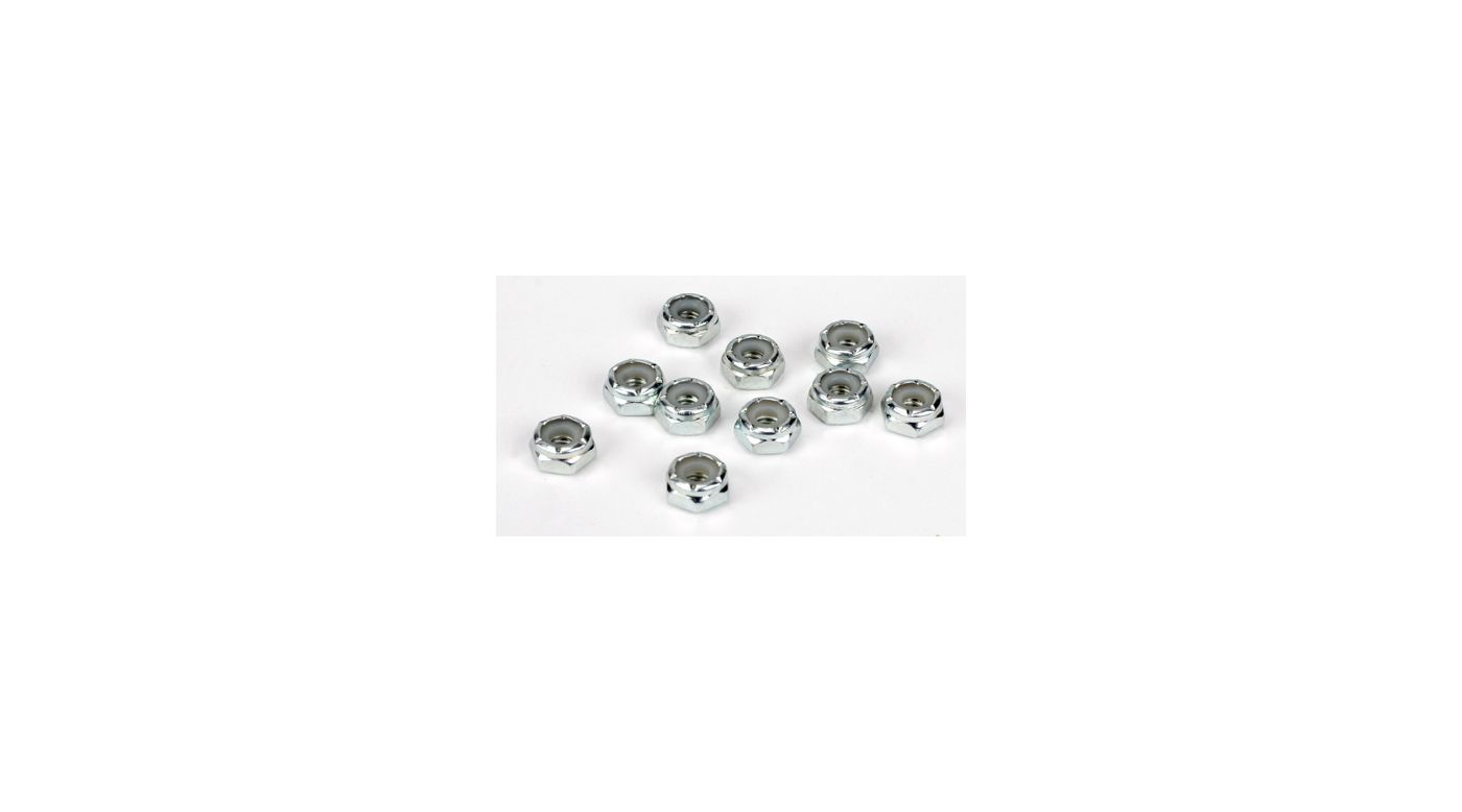 Image for Steel Lock Nuts, 8-32 (10) from HorizonHobby