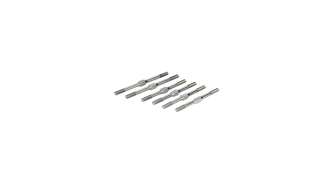 Image for Turnbuckle Kit, Titanium: 8B 2.0 from HorizonHobby