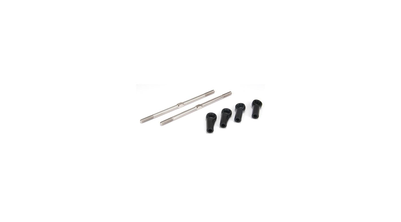 Image for Turnbuckles, 5mm x 115mm with Ends from HorizonHobby