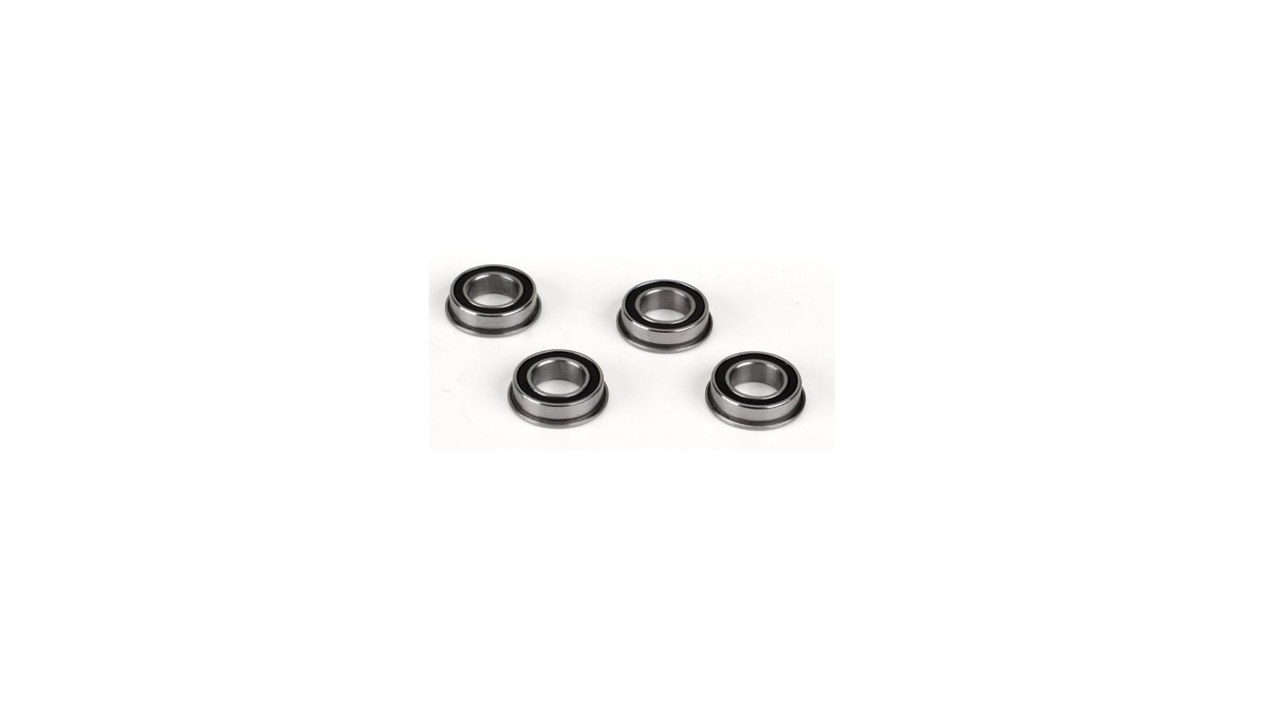 Image for 8x14x4 Flanged Rubber Seal Ball Bearing (4): 8X, 8XE from Horizon Hobby