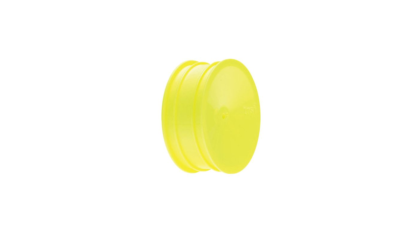 Image for Wide Front Wheel (2), Yellow: XXX from HorizonHobby