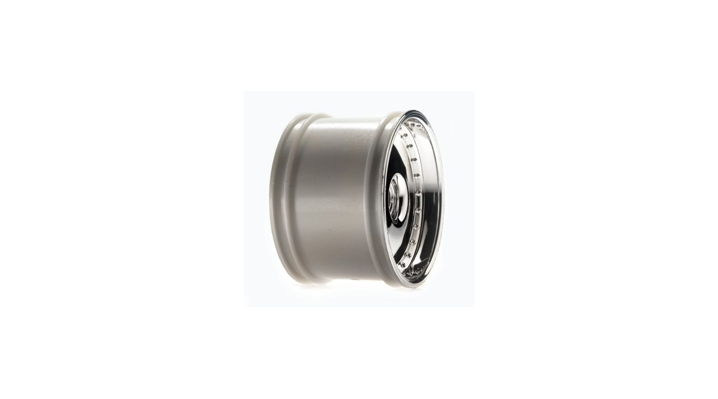 Image for 320 Series Deep Dish Chrome Wheel, Front (2) from HorizonHobby