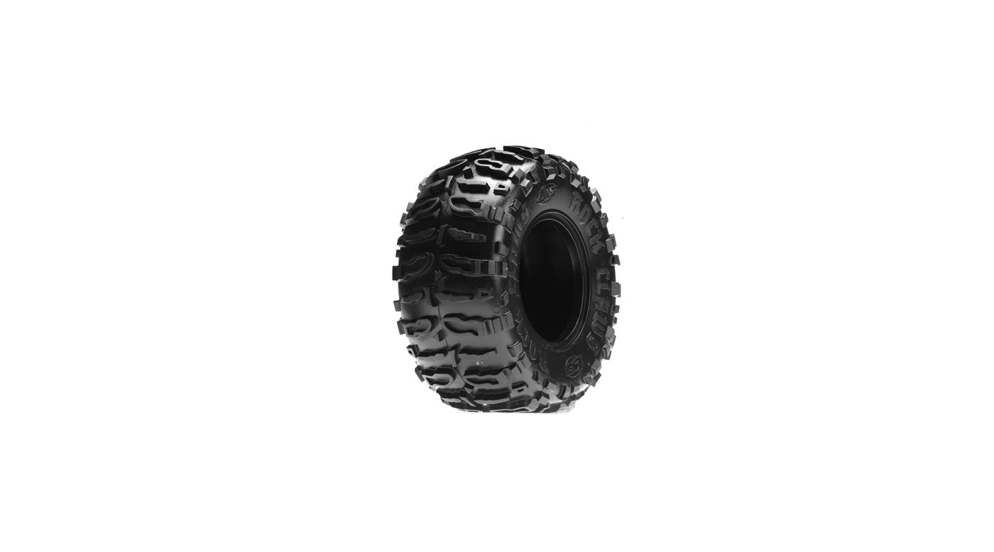 Image for Front/Rear Rock Claws 2.2 Tires w/ Foam, Blue (2) from HorizonHobby