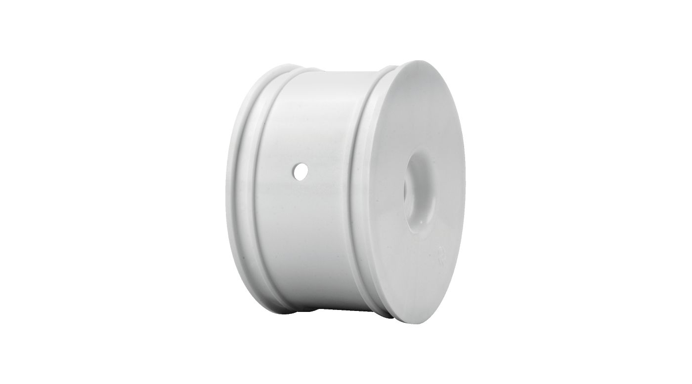Image for Truggy Wheels, Zero Offset, White (4): 8T 2.0 from HorizonHobby