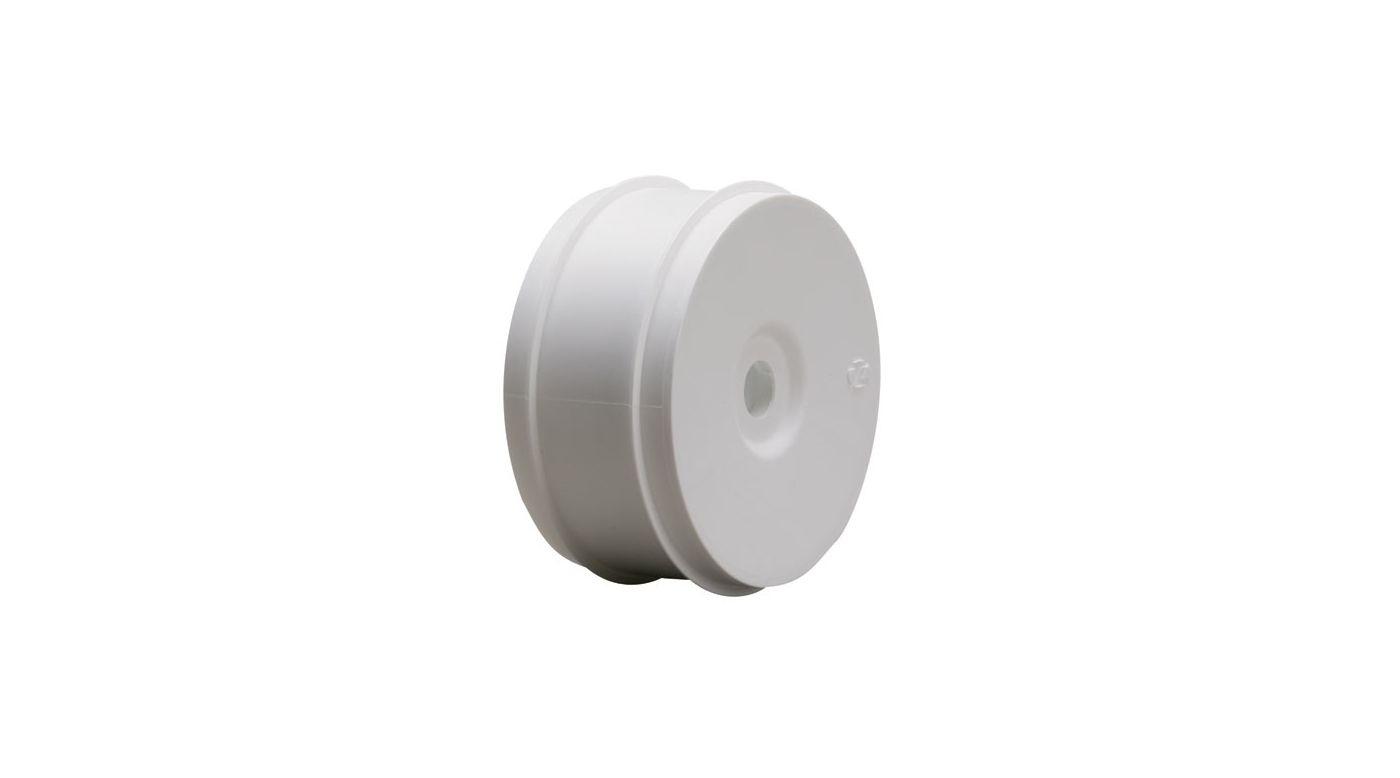 Image for 1/8 Buggy Dish Wheel, White (4) from HorizonHobby