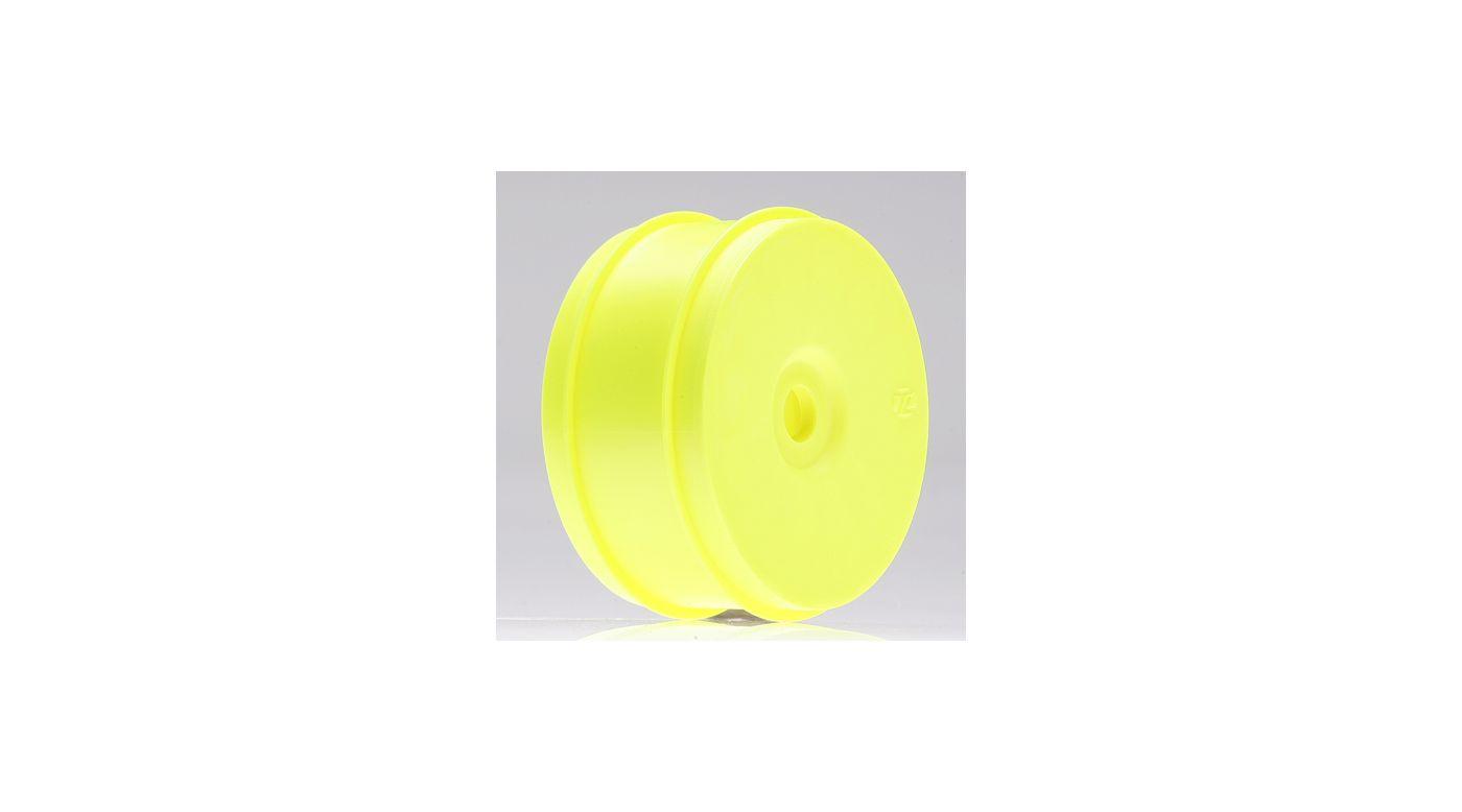 Image for 1/8 Buggy Dish Wheel, Yellow (4) from HorizonHobby