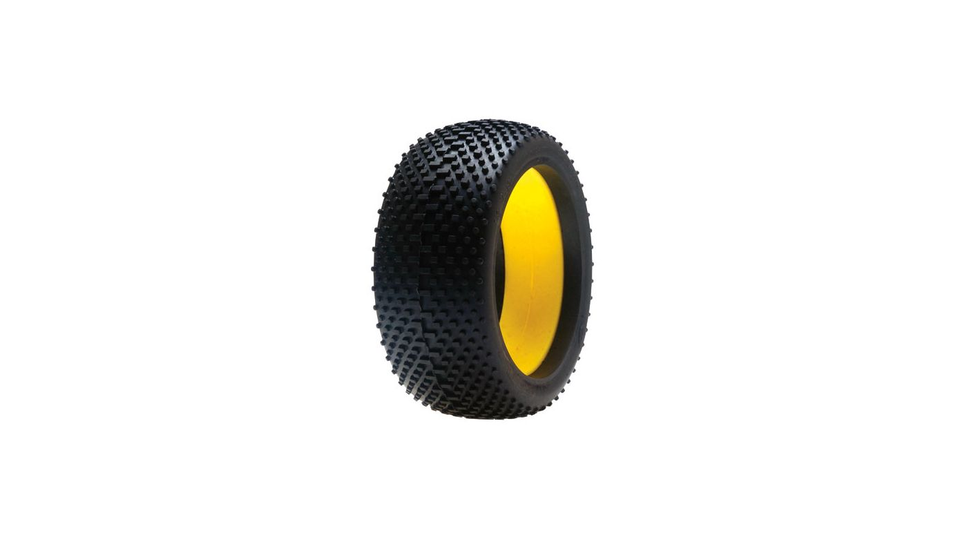 Image for 1/8 Reptile Buggy Tire, Red with Foam (2) from HorizonHobby
