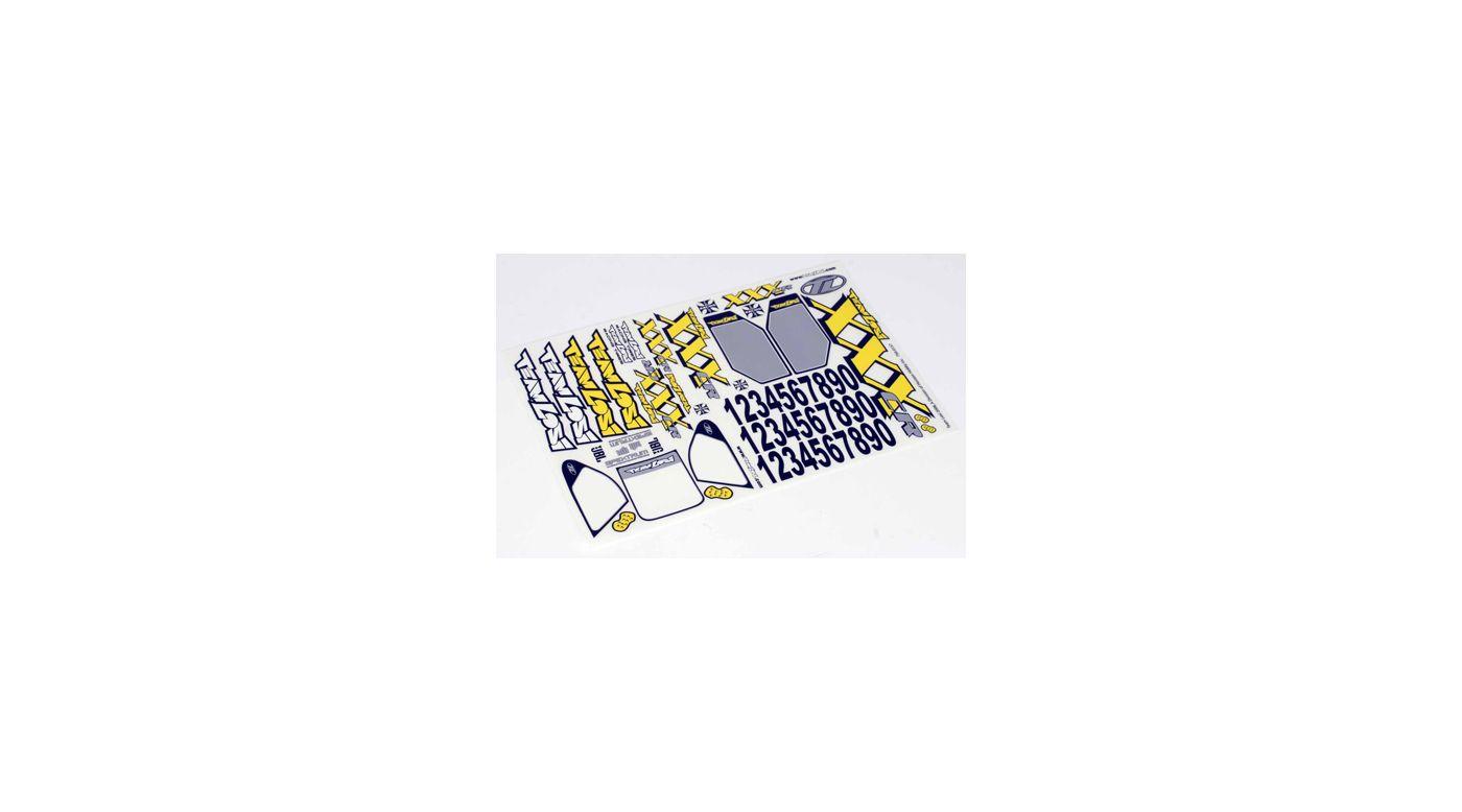 Image for XXXCR Sticker Sheet from HorizonHobby