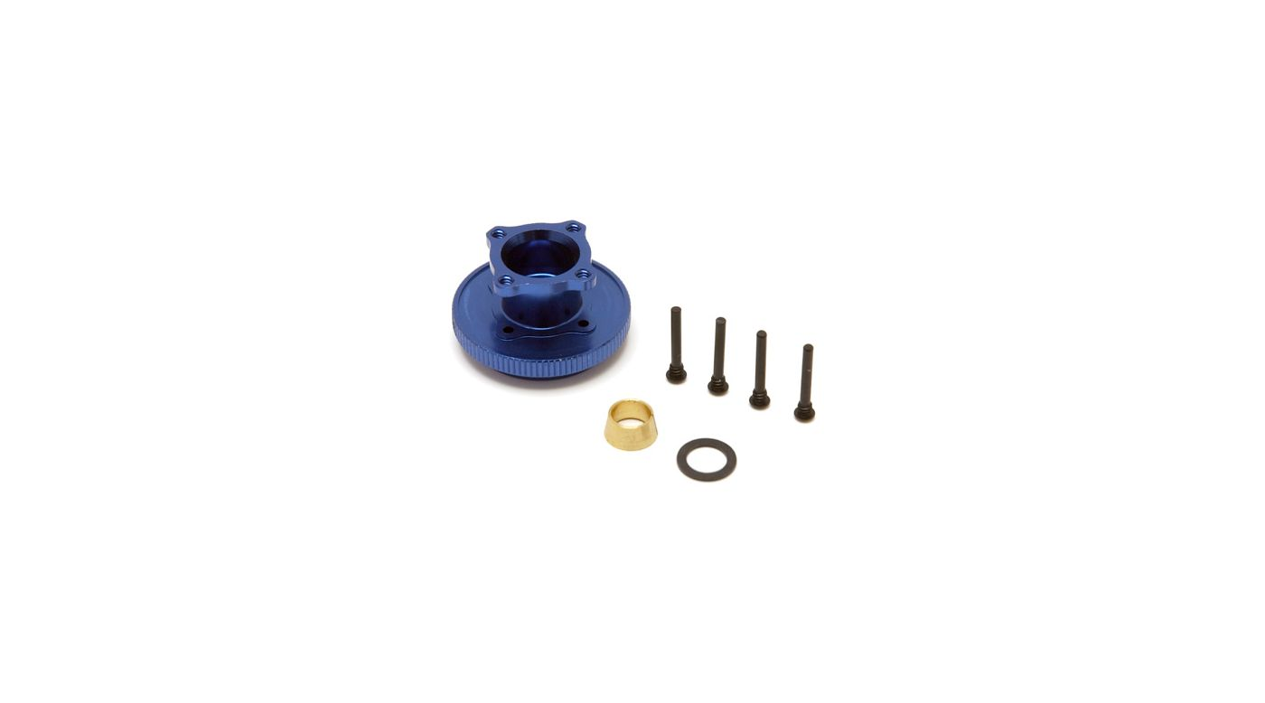 Image for Flywheel & Collet, Aluminum: 8B 2.0 from HorizonHobby
