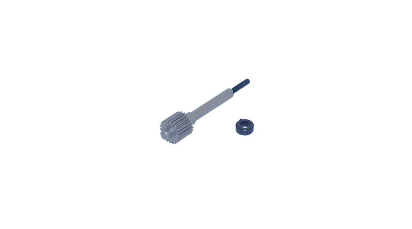 Image for Alum Upper Gear/Shaft 2.43 XXX/T/CR from HorizonHobby
