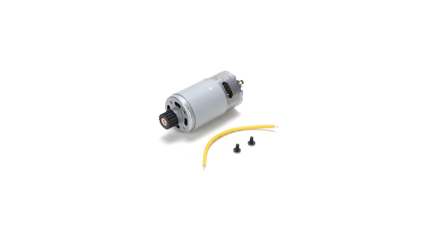 Image for 590 Starter Motor with Pulley: 8/8T from HorizonHobby