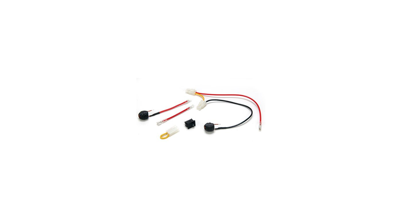 Image for Starter Switch & Wire Hardware: 8B/8T 2.0 from HorizonHobby