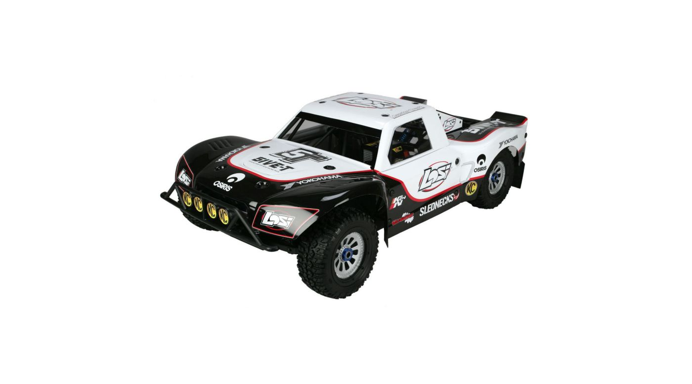 Image for 1/5 5IVE-T 4WD Off-Road Truck BND: White from Horizon Hobby
