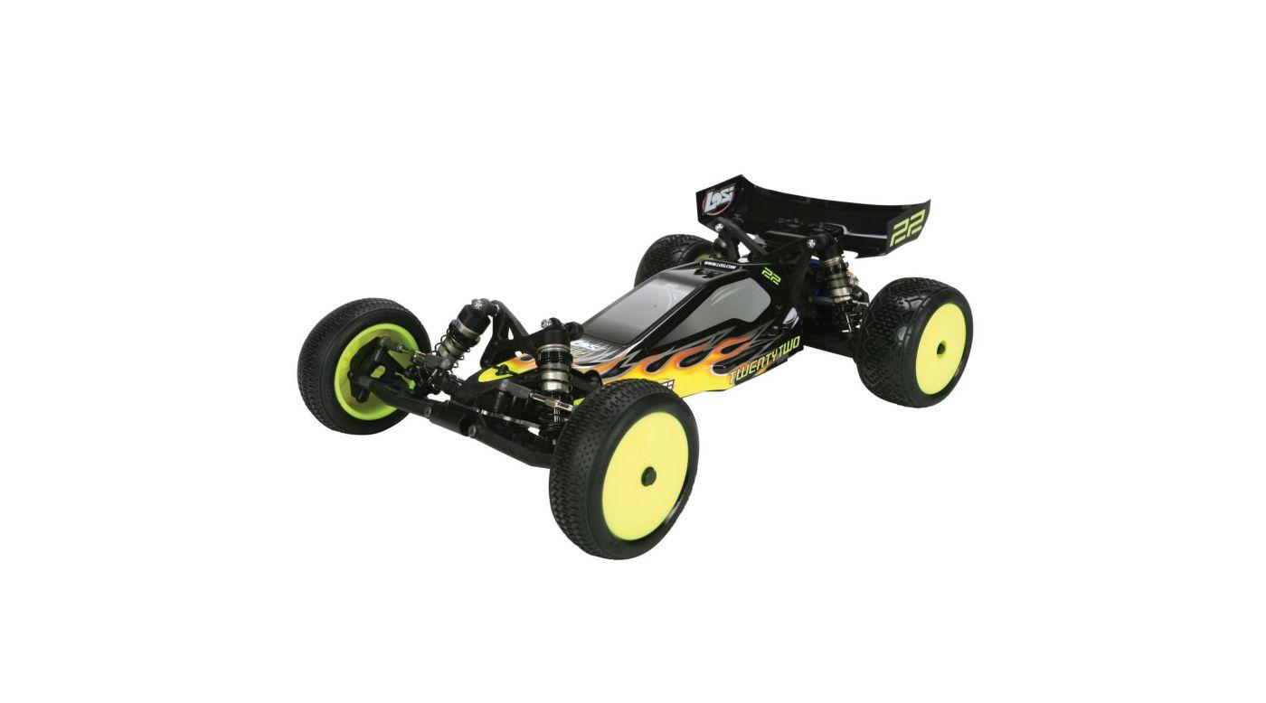 Team Losi Racing TLR5090 Piston /& Bushings Set for 12mm Shocks 22 22T//SCT 22-4