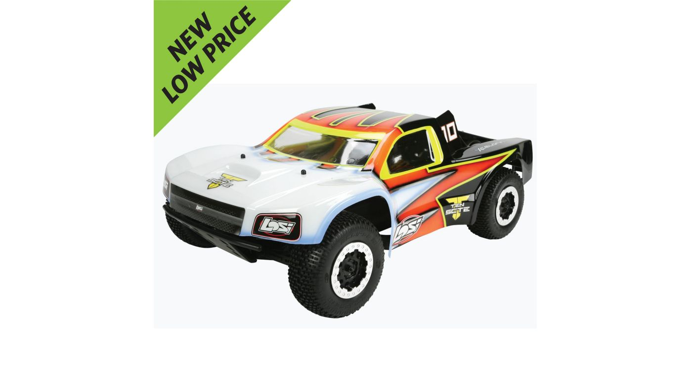 Image for TEN-SCTE 4WD Short Course Rolling Chassis from HorizonHobby